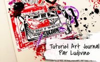 Tutoriel Art Journal par Ludivine