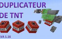 🛠 Tutoriel -  Duplicateur de TNT pour Minecraft Java 1.16
