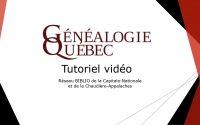 Tutoriel Généalogie Québec