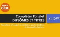 Tutoriel I-Prof du Sgen-CFDT - #ClasseExceptionelle