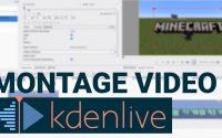 Tutoriel: Le montage vidéo avec Kdenlive