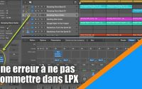 Tutoriel Logic Pro X (en Français): une erreur à ne pas commettre dans Logic Pro X.