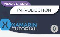 Tutoriel Xamarin - Créer une application mobile en C# - Introduction