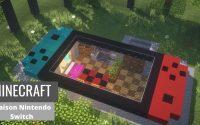 ⛏ Tutoriel de construction Minecraft :: 🎮 Maison Nintendo Switch 🕹️