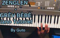 ZENGLEN - GRÈV BÈBÈ (Piano Tutoriel, Accords + Solo) | Comment Jouer Grèv Bèbè de Zenglen