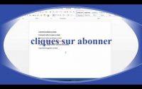 cours word leçon 1