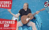 APPRENDRE À JOUER «BLITZKRIEG BOB» DES RAMONES À LA GUITARE ACOUSTIQUE - Cours de Guitare Gratuit