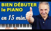 Apprendre à jouer Piano, leçon Grands Débutants, Méthode facile en 15 minutes (TUTO PIANO FACILE).