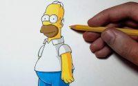 Comment dessiner Homer Simpson [Tutoriel]