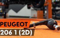 Comment remplacer des rotule de direction sur PEUGEOT 206 1 (2D) [TUTORIEL AUTODOC]