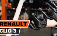 Comment remplacer ressort de suspension arrière sur RENAULT CLIO 3 [TUTORIEL AUTODOC]