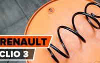 Comment remplacer ressort de suspension avant sur RENAULT CLIO 3 [TUTORIEL AUTODOC]
