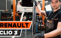 Comment remplacer un amortisseur arrière sur RENAULT CLIO 3 [TUTORIEL AUTODOC]