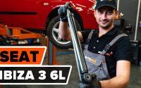 Comment remplacer un amortisseur arrière sur SEAT IBIZA 3 6L [TUTORIEL AUTODOC]