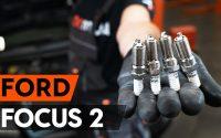 Comment remplacer un bougie d'allumage sur FORD FOCUS 2 (DA) [TUTORIEL AUTODOC]