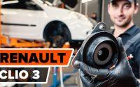 Comment remplacer une coupelle d'amortisseur sur RENAULT CLIO 3 [TUTORIEL AUTODOC]