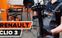 Comment remplacer une jambe de force avant sur RENAULT CLIO 3 [TUTORIEL AUTODOC]
