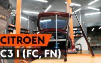 Comment remplacer verin de coffre sur CITROEN C3 1 (FC, FN) [TUTORIEL AUTODOC]