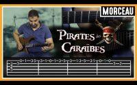 Cours de Guitare : Apprendre Pirates des Caraïbes de Klaus Badelt et Hans Zimmer