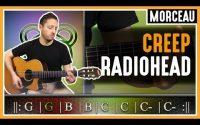 Cours de guitare : Apprendre Creep de Radiohead