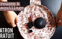 DIY trousse à maquillage - PATRON GRATUIT - Tutoriel de couture - Trousse magique