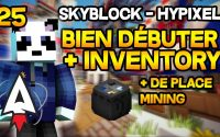 Hypixel Skyblock - Bien débuter #25 - Avoir + de place Mining Sack - Tutoriel, Guide | Alvegar