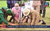 Journée de l'arbre: Macky SALL donne une leçon d'humilité à Abdou Karim SALL