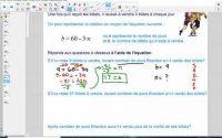 Leçon 3.5 - Déterminer une valeur en résolvant des équations