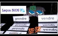 Leçon N:05 / Les verbes du 3 ème groupe ( Sortir/ aller/ vendre/ prendre) au présent de l'indicatif