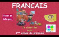 Leçon  d'étude de la langue Française pour la 1ère année du primaire