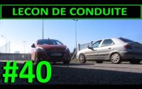 Leçon de conduite #40 - Demi-tour
