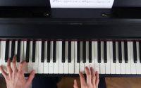 Leçon de piano n°5+ : L'aigle noir (Barbara)