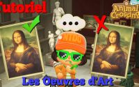 Les Oeuvres d'Art - Tutoriel Animal Crossing New Horizons