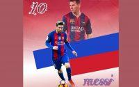 Picsart football edit tutoriel Messi