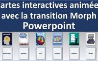 Présentation PowerPoint avec animation rotation d'image et transition Morph - #Tutoriel