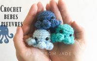 RAPIDE & FACILE - tutoriel bébé pieuvre au crochet sans couture (étape par étape) Droitiers