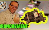 TUTORIEL Branchement moteur machine à laver - moteur universel - Récupération PMbricoleur