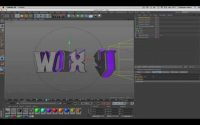 TUTORIEL CINEMA 4D #1 : Rotation text et mouvement de caméra (Lis la Description)