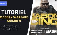 [TUTORIEL] RÉALISER L'EASTER EGG DU STADIUM - MODERN WARFARE SAISON 5 !