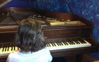 The piano - La leçon de piano by Diane Lambiet