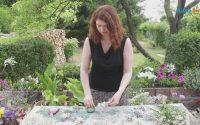 Tutoriel Art Floral : La couronne de fleurs par Sylvie Chardon