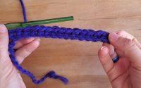Tutoriel Crochet 101 - La maille serrée (single crochet)
