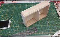 Tutoriel DIY  boîte pour jeu de cartes scrapbooking 😉