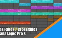 Tutoriel Logic Pro X (en Français): comment  faire des Fades / crossfades dans Logic.