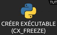 Tutoriel Python - créer exécutable (cx_Freeze)