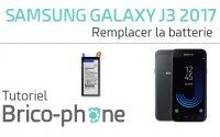 Tutoriel Samsung Galaxy J3 2017 : remplacer la batterie