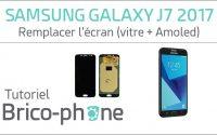 Tutoriel Samsung Galaxy J7 2017 : remplacer l'écran (vitre + Amoled)