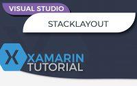 Tutoriel Xamarin - Créer une application mobile en C# - StackLayout