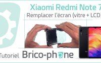 Tutoriel Xiaomi Redmi Note 7 : remplacer l'écran (vitre tactile + afficheur LCD)