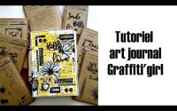 Tutoriel art journal en Graffiti'girl